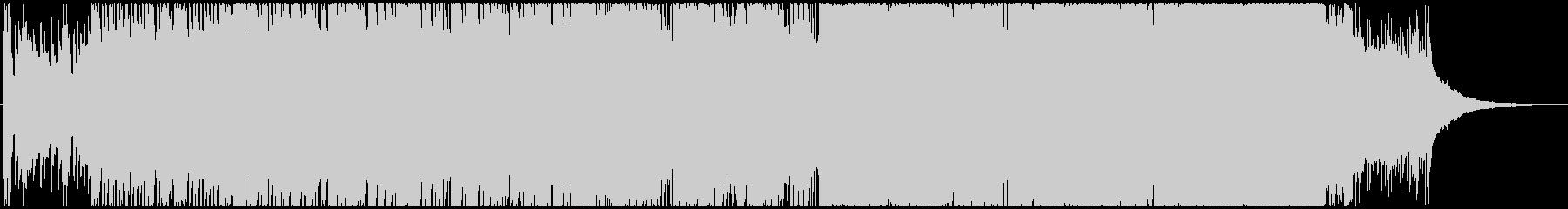 紹介BGMの最適なフュージョンの未再生の波形