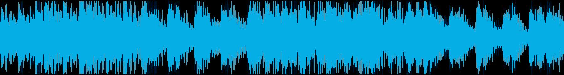 ループ:緊張感、浮遊感、ドキドキの再生済みの波形