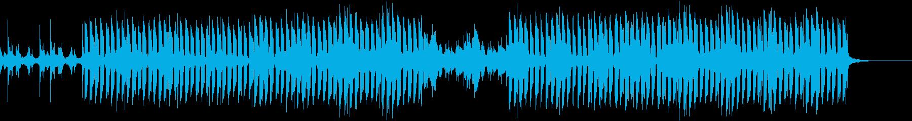 おしゃれ・爽やか・EDMの再生済みの波形