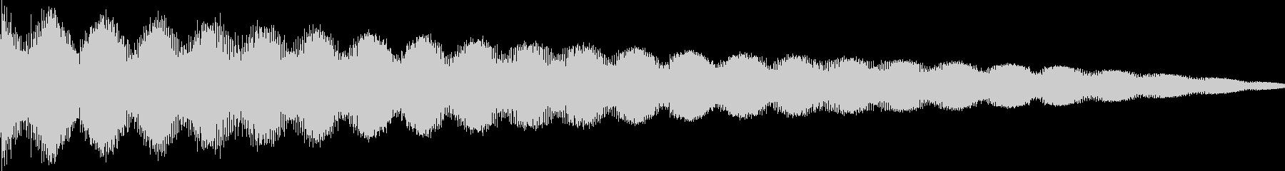 ゲーム系エラー・リフレクトの未再生の波形