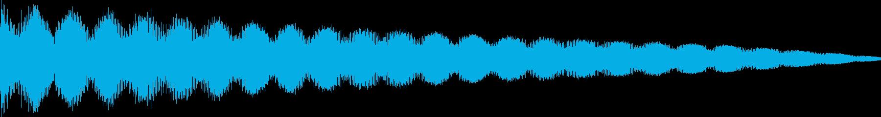 ゲーム系エラー・リフレクトの再生済みの波形