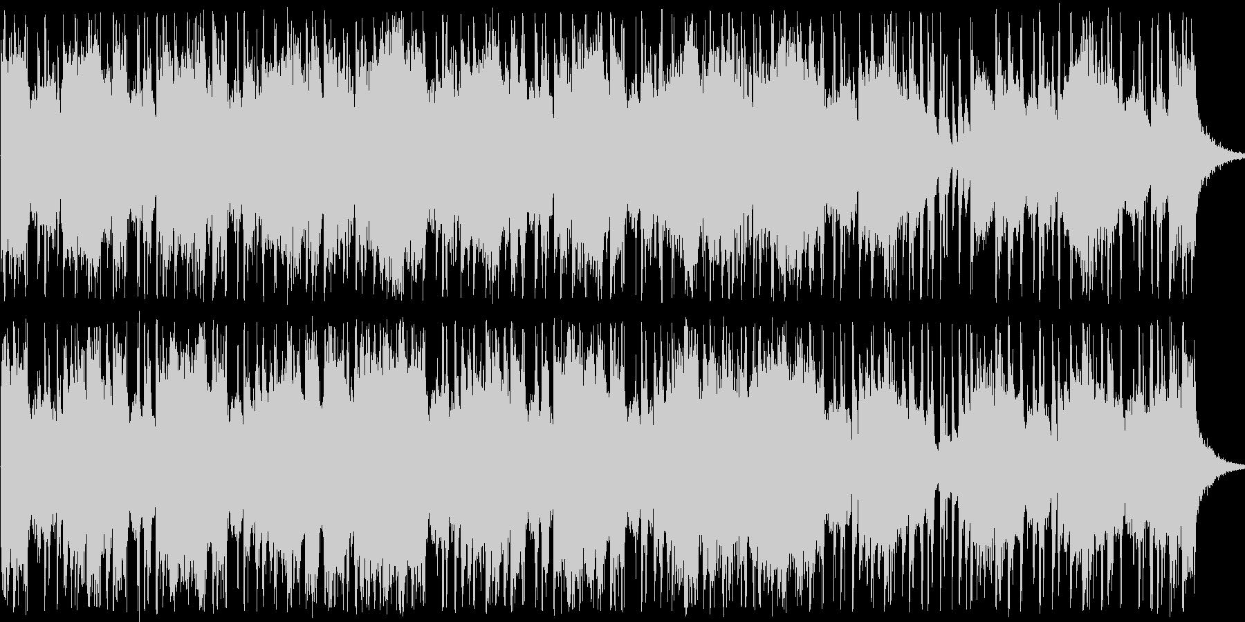 happyなショートBGMの未再生の波形