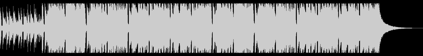 ほのぼのとした日常系BGMの未再生の波形