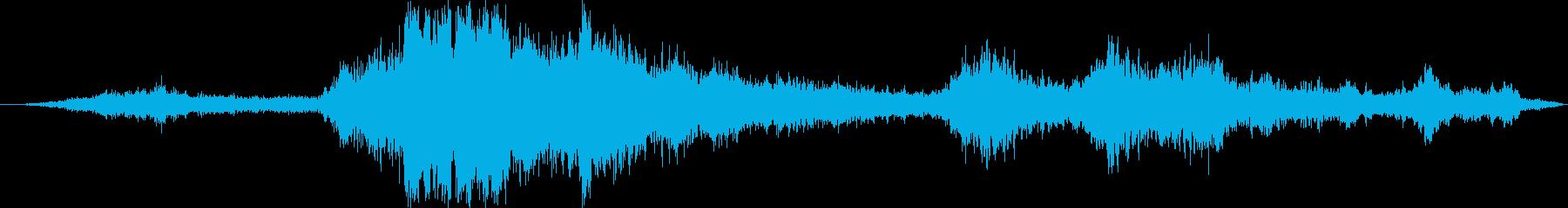 軍事F / A-18:内線:アフタ...の再生済みの波形