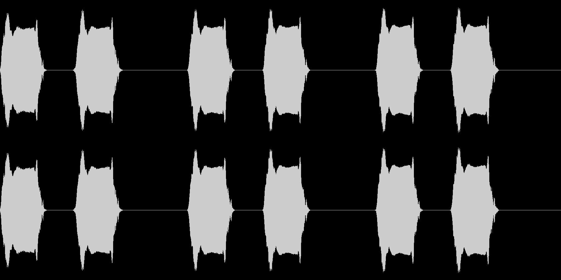 携帯電話 バイブレーション03-16(毛の未再生の波形