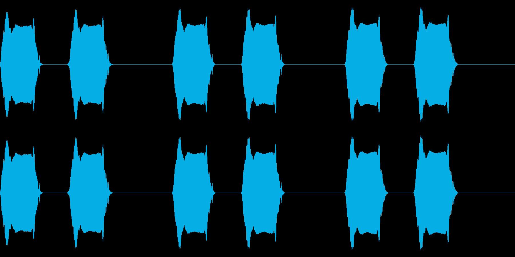 携帯電話 バイブレーション03-16(毛の再生済みの波形