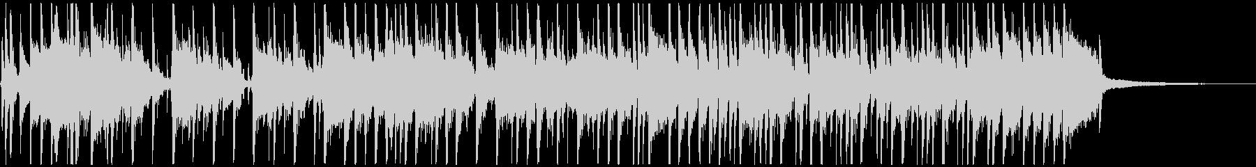 ジングル3、コミカルなFunk Rockの未再生の波形
