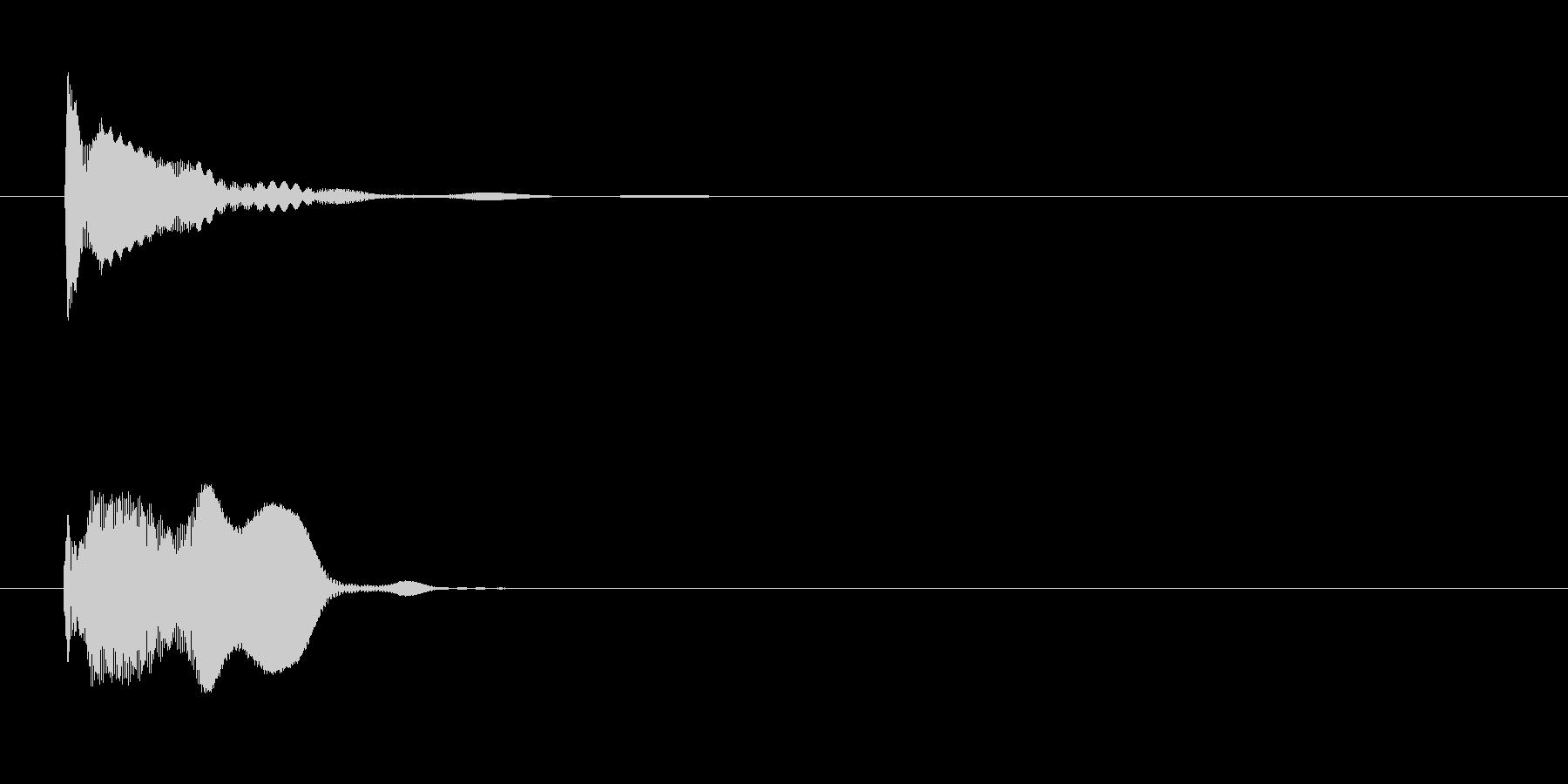 カートゥーンエフェクト、(ストリン...の未再生の波形