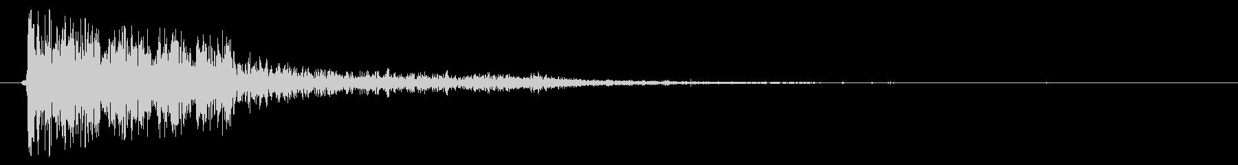 雑 ラージダートフォール01の未再生の波形
