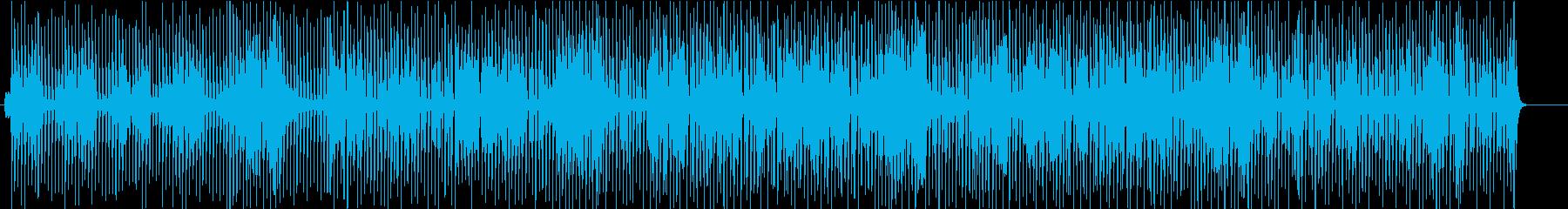 何かに追われてるジャズブルース(ブラシ)の再生済みの波形