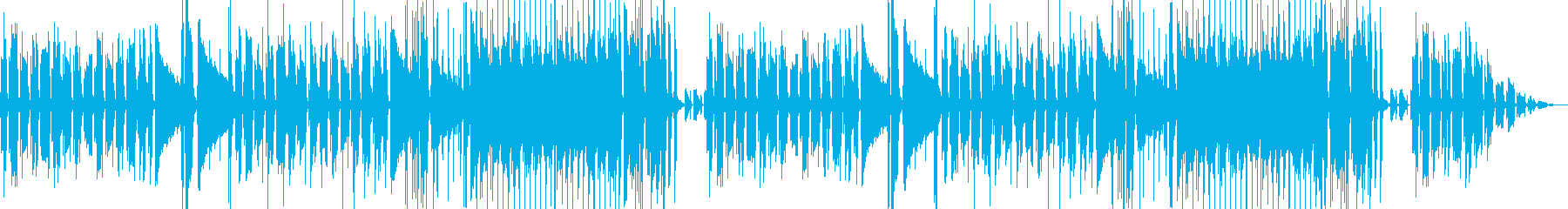 ちょい怪しげな雰囲気のジャズブルースの再生済みの波形