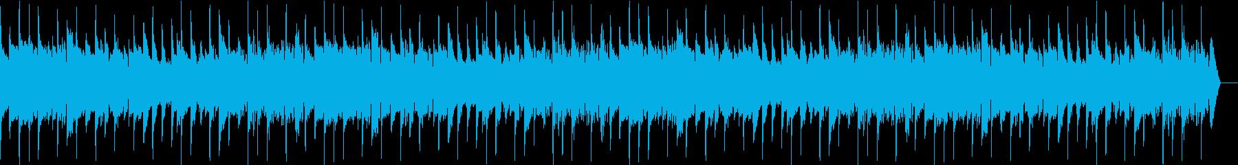 感動の回想シーンを演出するエレキギター3の再生済みの波形