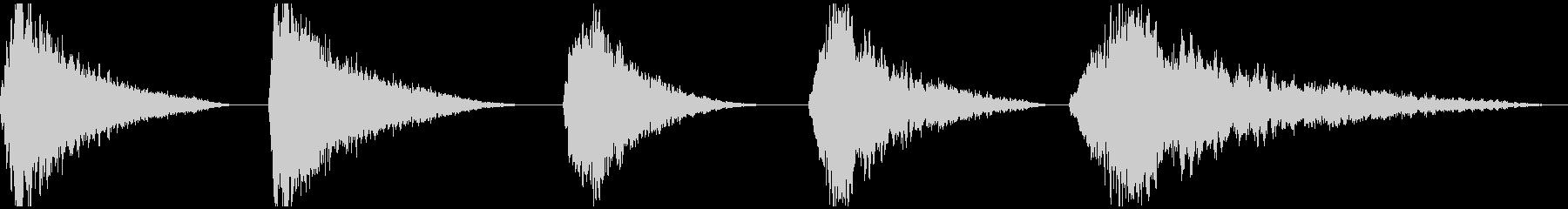 レゾスムース、5バージョン、コード...の未再生の波形