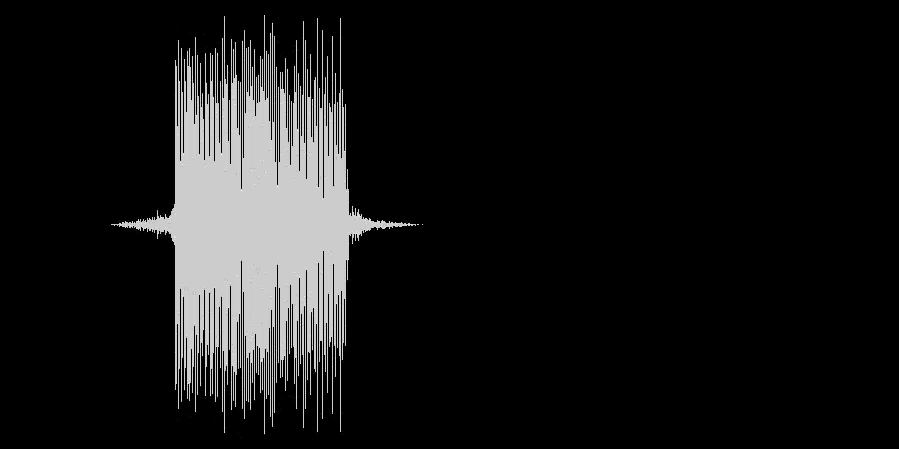 ゲーム(ファミコン風)レーザー音_004の未再生の波形
