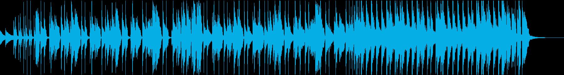 おかしい  ハッピー  音楽の再生済みの波形