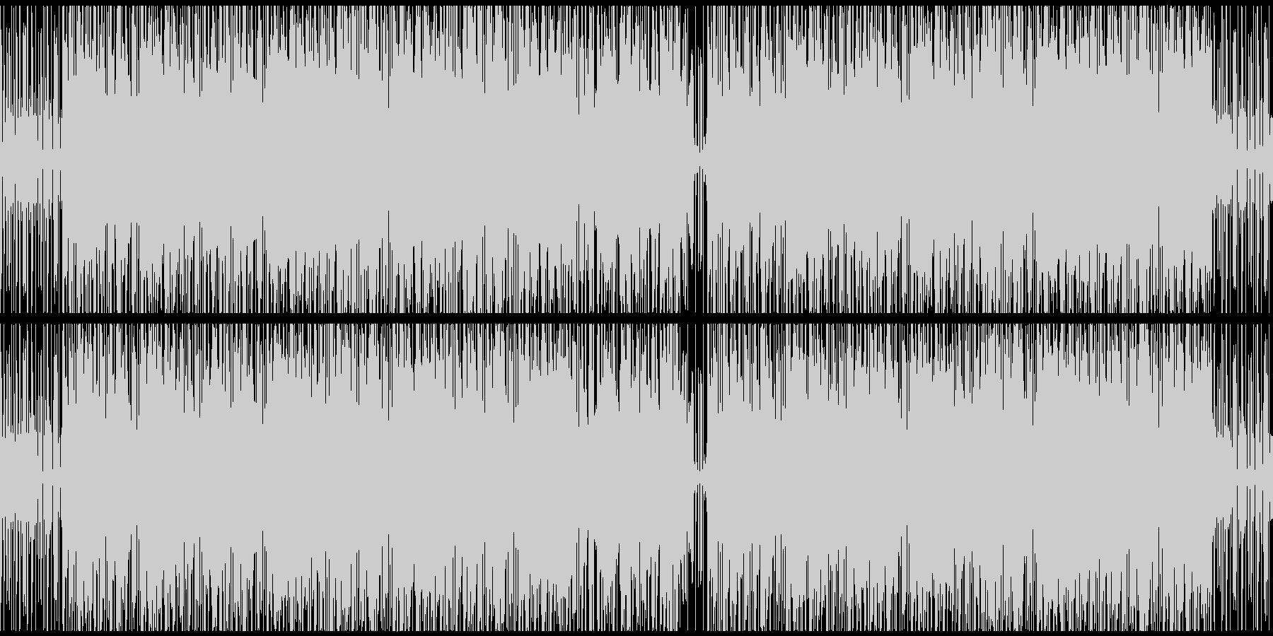 【ループ対応】心地良いヒーリングポップの未再生の波形