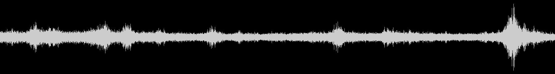 渋谷駅西口交差点 生録音 ループの未再生の波形