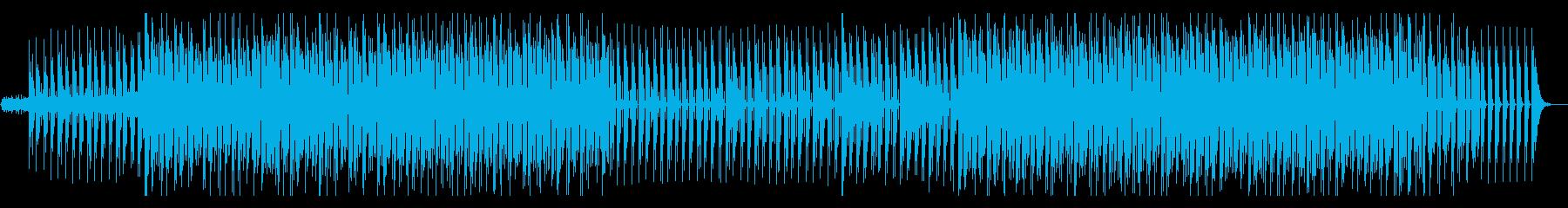 女性ボーカルが印象的なハウスミュージックの再生済みの波形