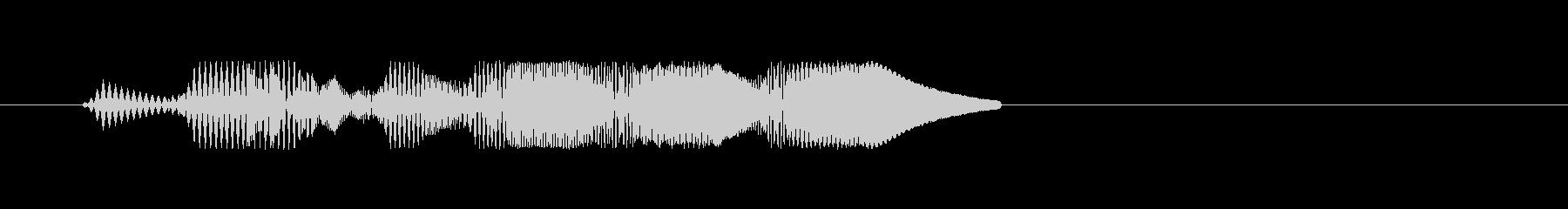 ファミコン風効果音決定音系です 11の未再生の波形