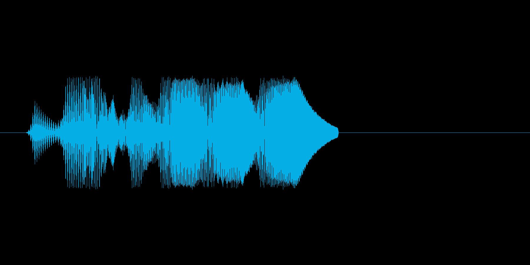 ファミコン風効果音決定音系です 11の再生済みの波形