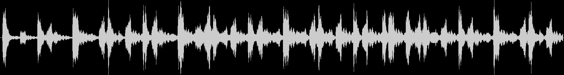 エレクトロなイメージをした楽曲です。の未再生の波形