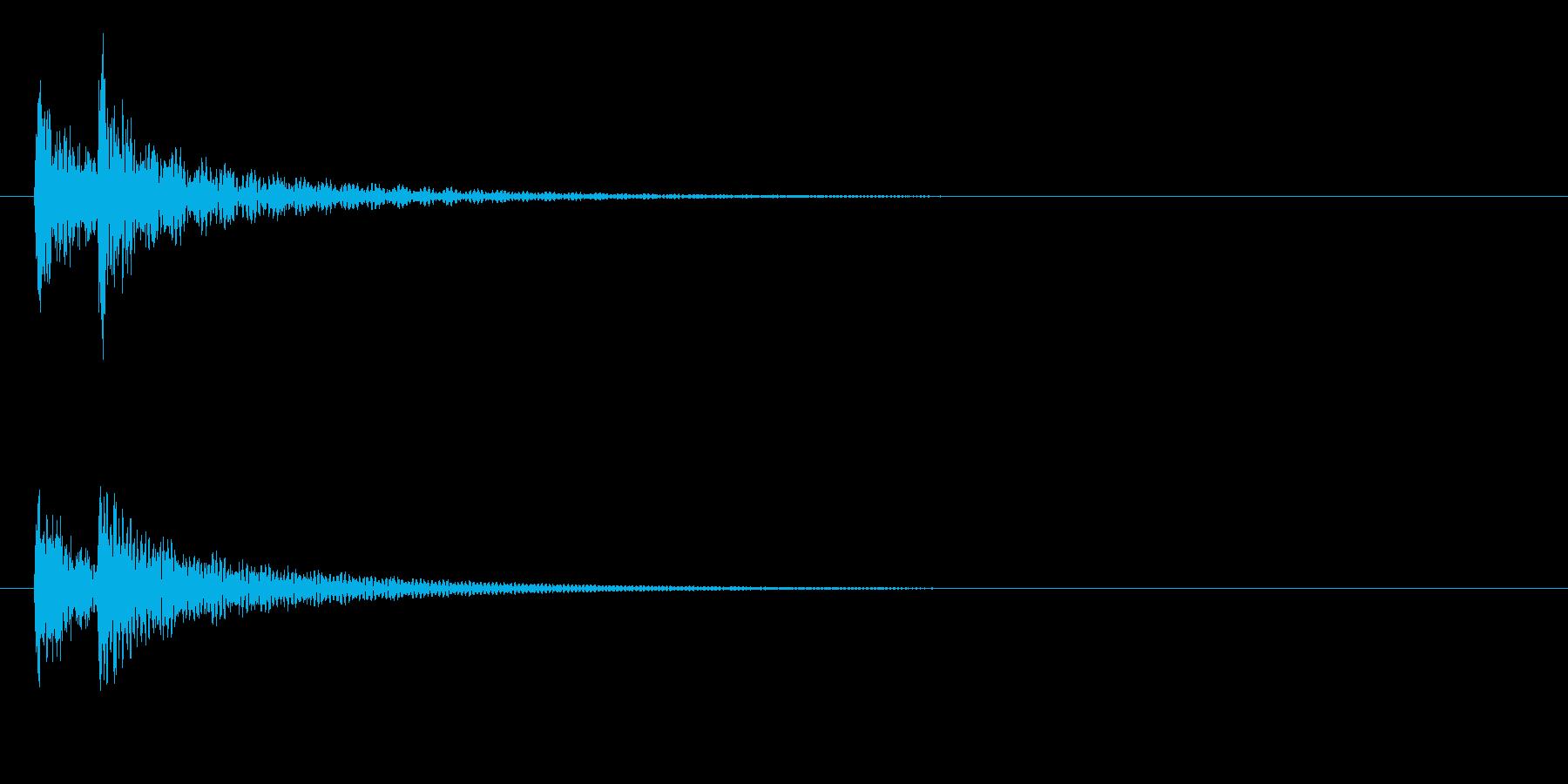 ティンパニ、(手)ディープリマイン...の再生済みの波形