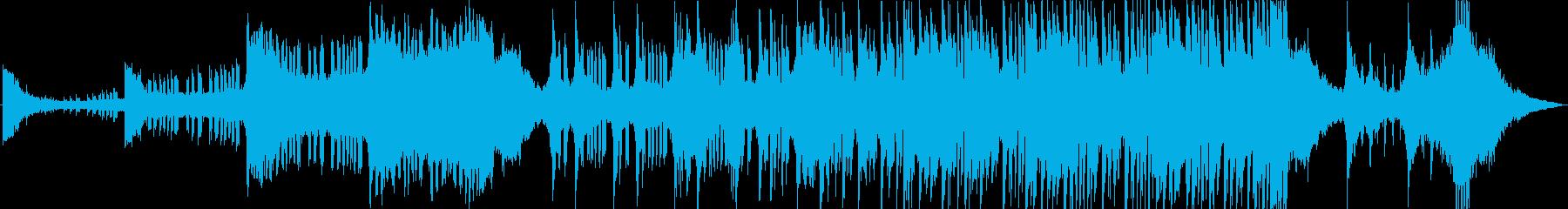 実験的 積極的 焦り 神経質 燃え...の再生済みの波形