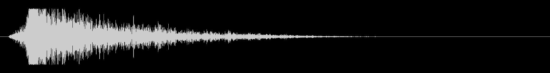 シュードーン-16(インパクト音)の未再生の波形
