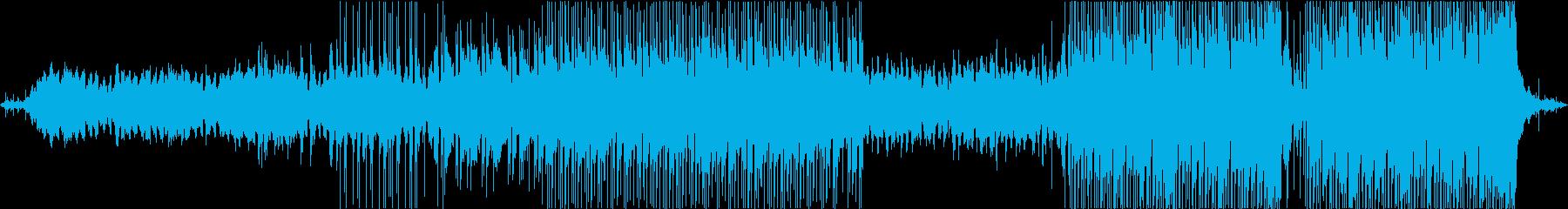 雨の日のチルでテクノなLiFiビートの再生済みの波形