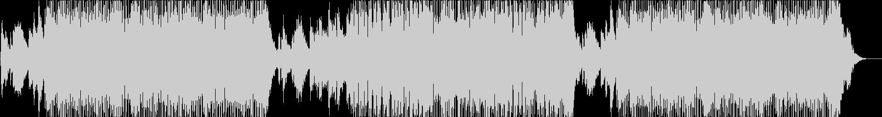サックスが切ないスムースジャズの未再生の波形