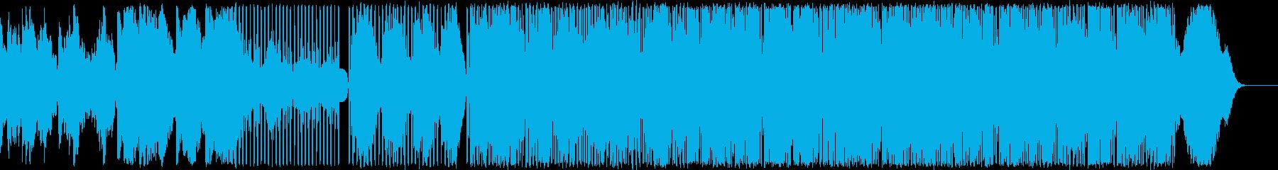 懐かしい90年代風テクノポップの再生済みの波形