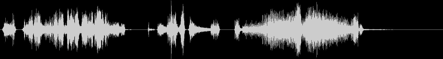 電気ドリル9の未再生の波形