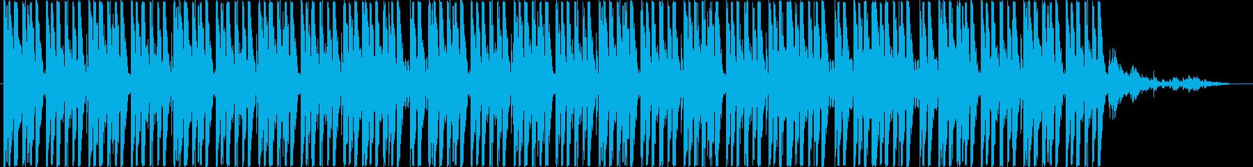 緑色の蔦 (暗いシンセ+冷たいリズム)の再生済みの波形
