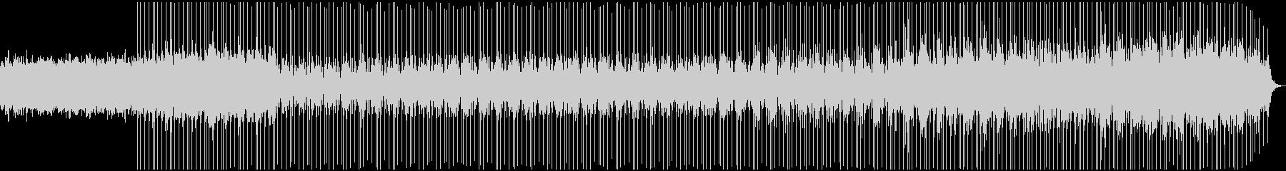 ダークでゆったりとしたエレクトロニカの未再生の波形