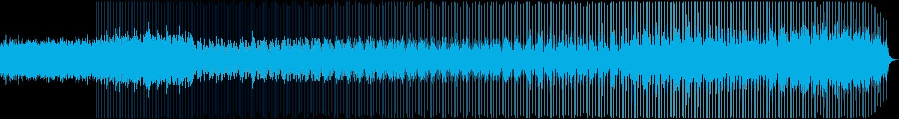 ダークでゆったりとしたエレクトロニカの再生済みの波形