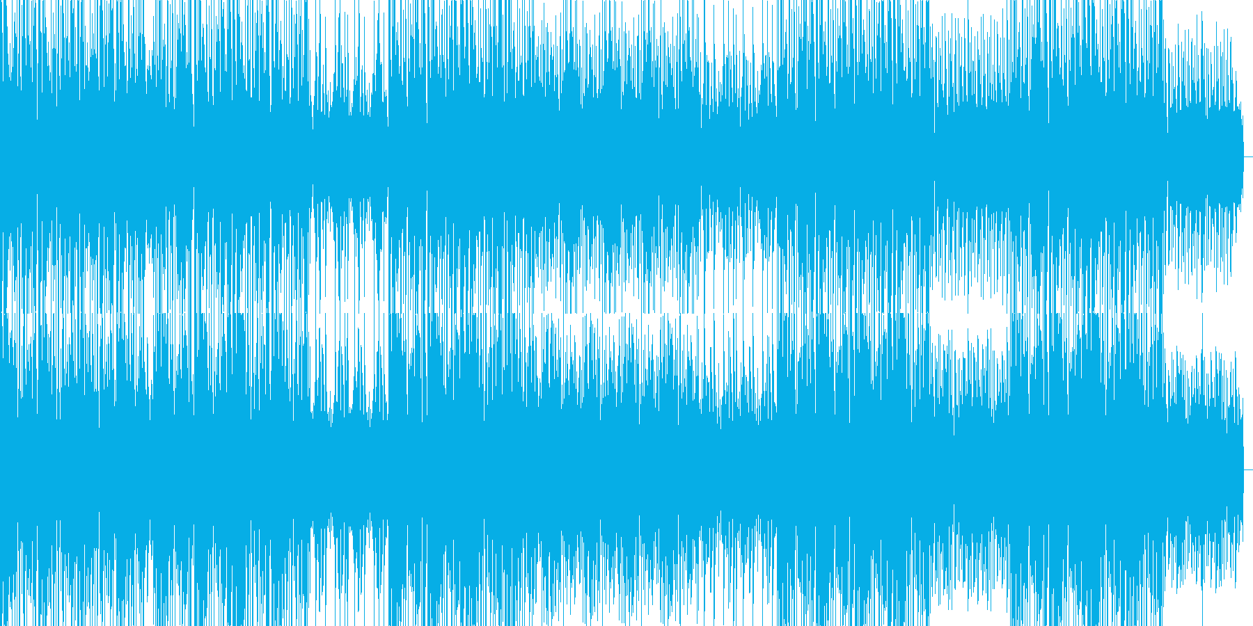 Lo-fiで幻想的なHIPHOP楽曲の再生済みの波形