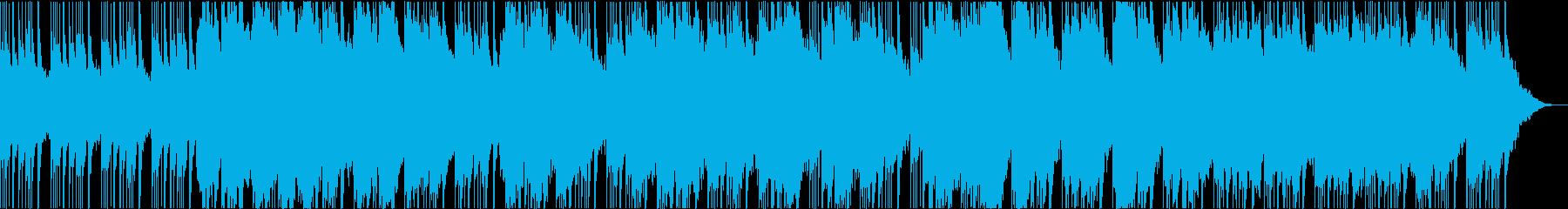 幻想的な笛の和風曲の再生済みの波形
