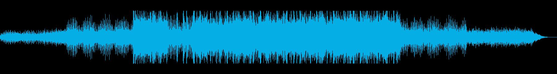 浮遊感なシーケンサーのテクノポップの再生済みの波形