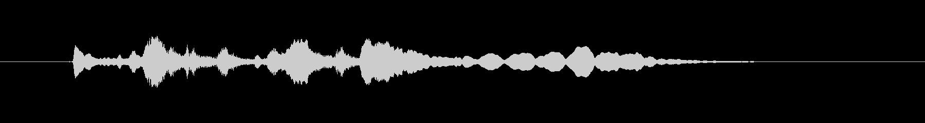 トランペット ぱっぱらぱーの未再生の波形