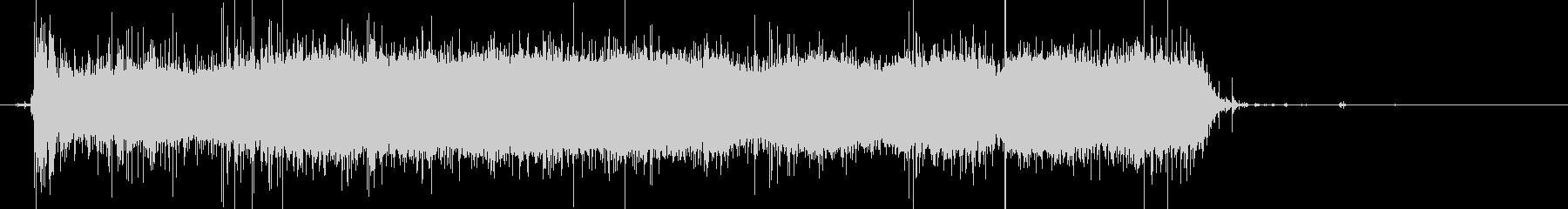じゃーピチョピチョ…シャワーの音(長め)の未再生の波形