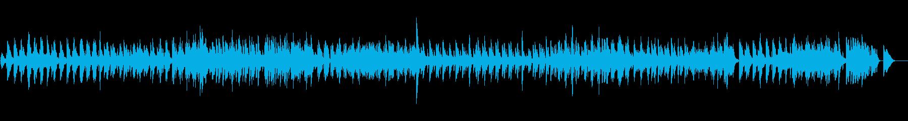 ハープの吟遊詩人の語る物語のはじまりの曲の再生済みの波形