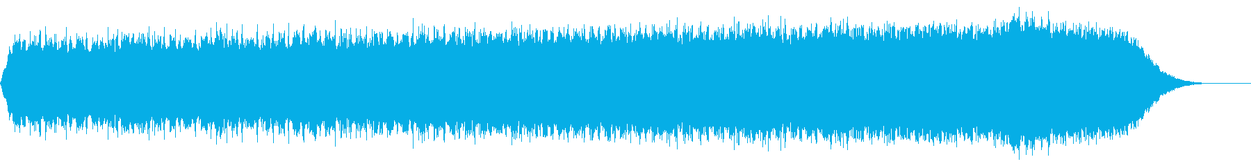 背景音(スリル)の再生済みの波形