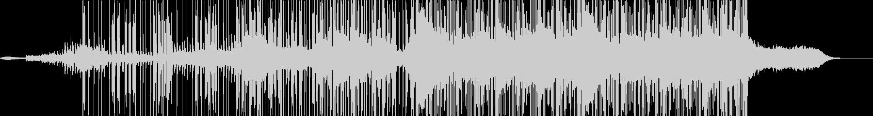 ブライトで激しいEDM。CM,映像向きの未再生の波形