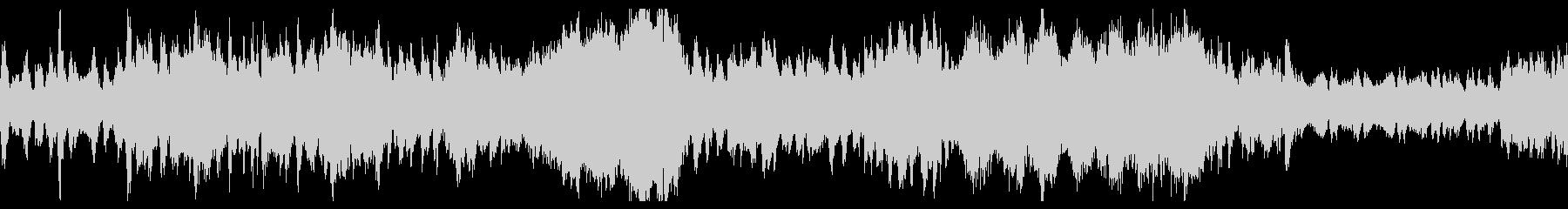 優雅なオーケストラによるワルツの未再生の波形