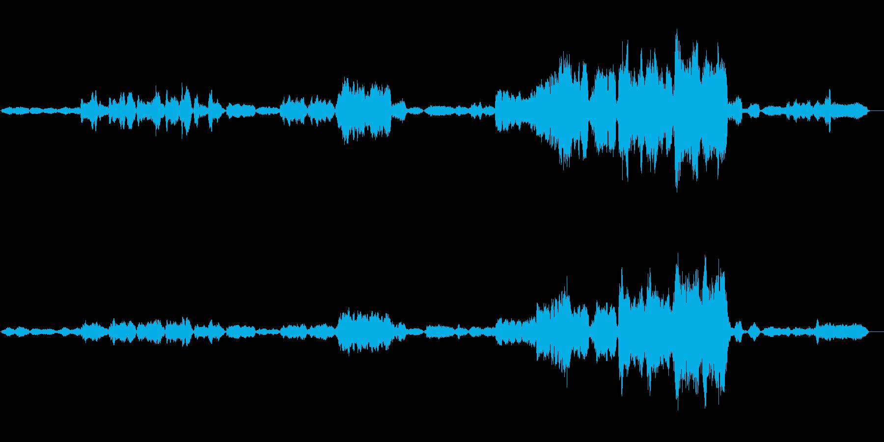 ノスタルジックなオーケストラの再生済みの波形
