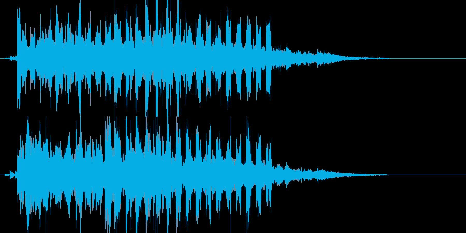 回復魔法(ピピピピピピピピ)の再生済みの波形
