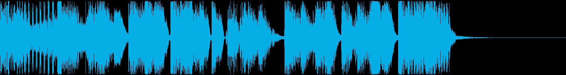 Glitch/Funk/Darkの再生済みの波形