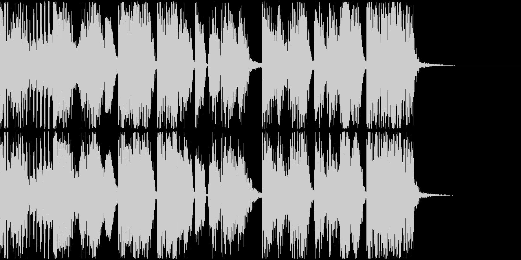Glitch/Funk/Darkの未再生の波形
