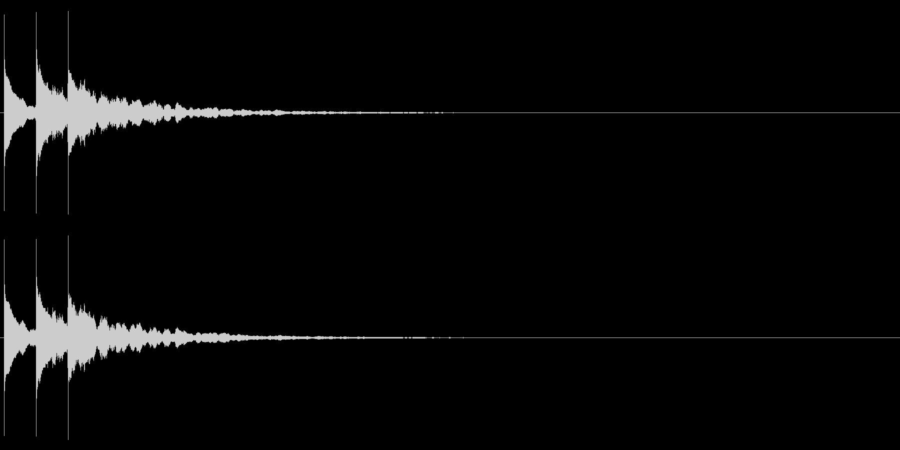 【サウンドロゴ】シンプル_01の未再生の波形