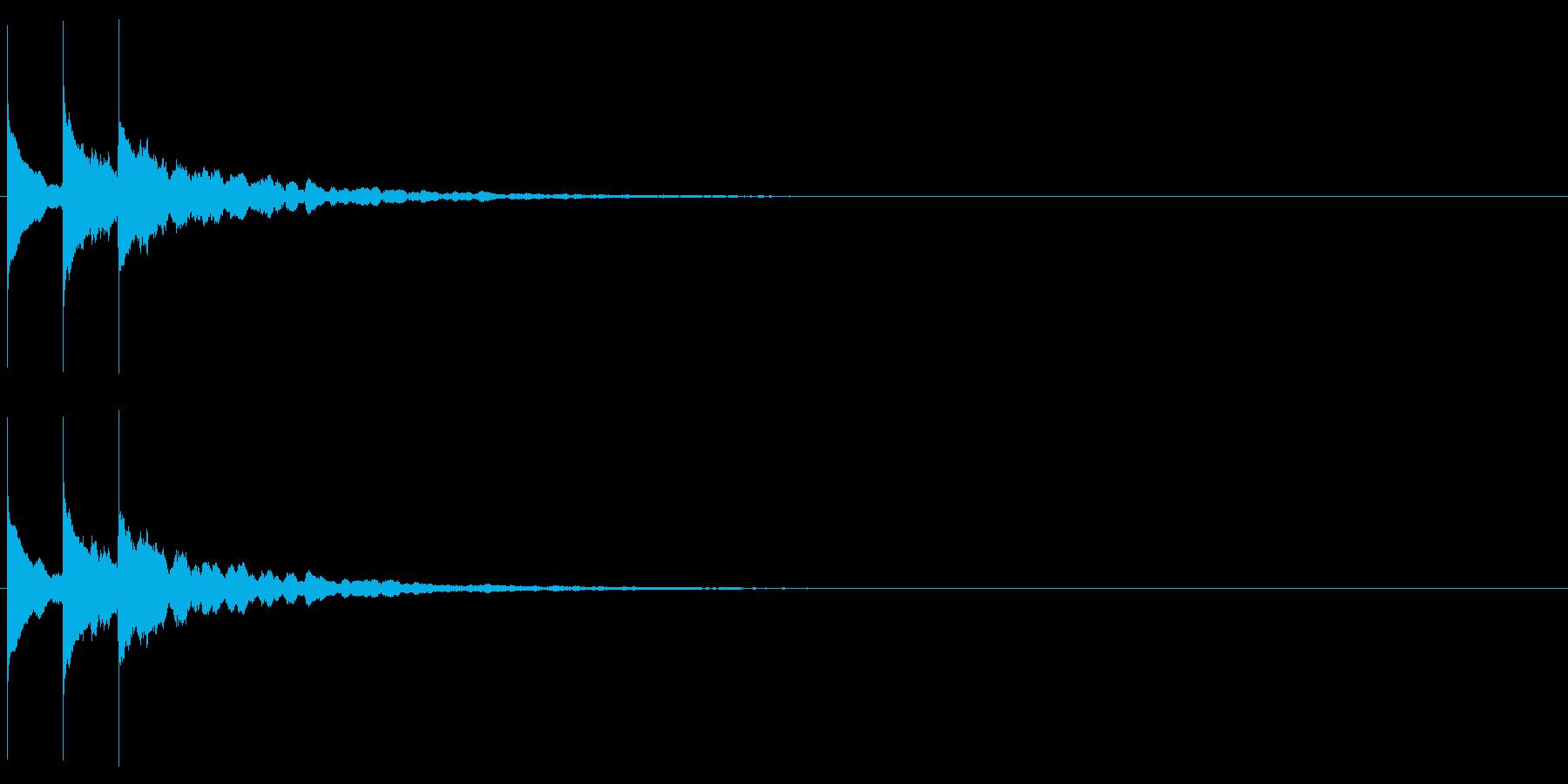 【サウンドロゴ】シンプル_01の再生済みの波形